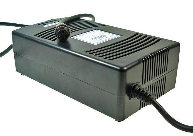 48 Volt 1.8 A 3-Prong Battery Charger (Standard)