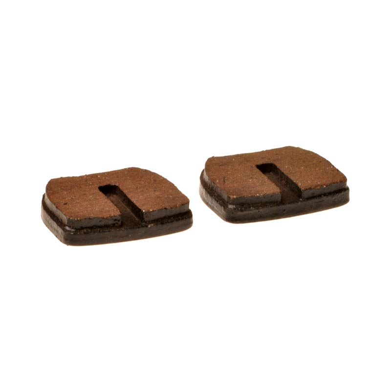 Brake Disc Pads - Rounded