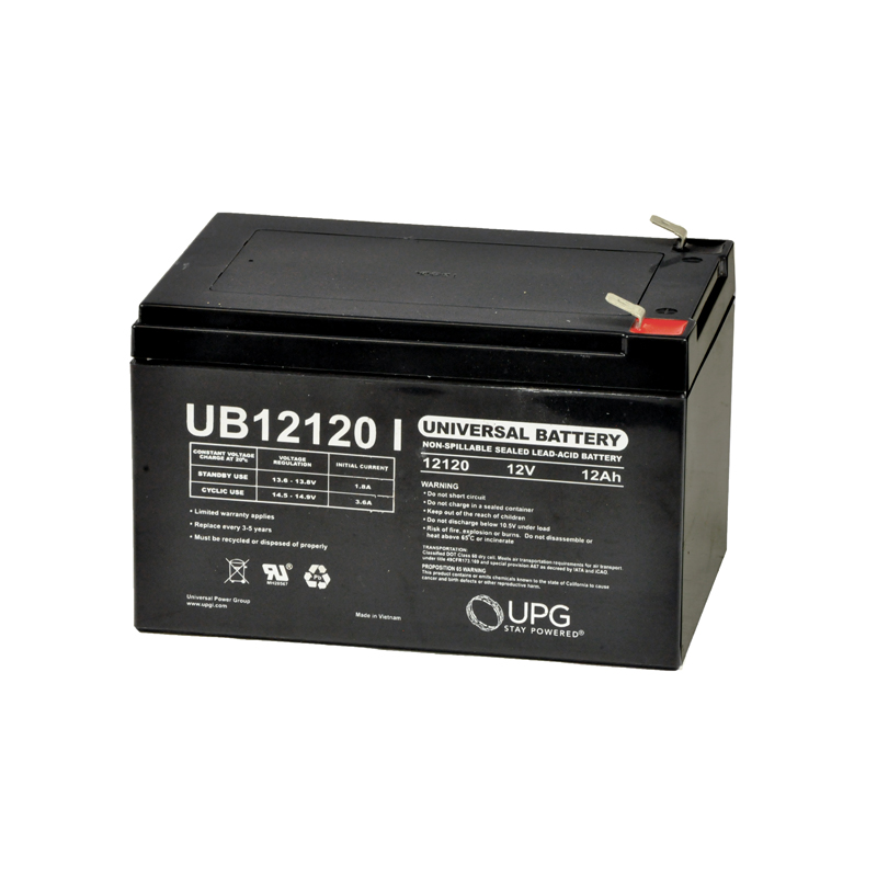 12 Ah 12 Volt AGM Scooter Battery