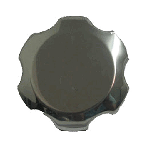 Chrome Gas Cap (Fuel Cap) for 97cc 2.8 Hp, 163cc 5.5 Hp & 196cc 6.5 Hp Engines
