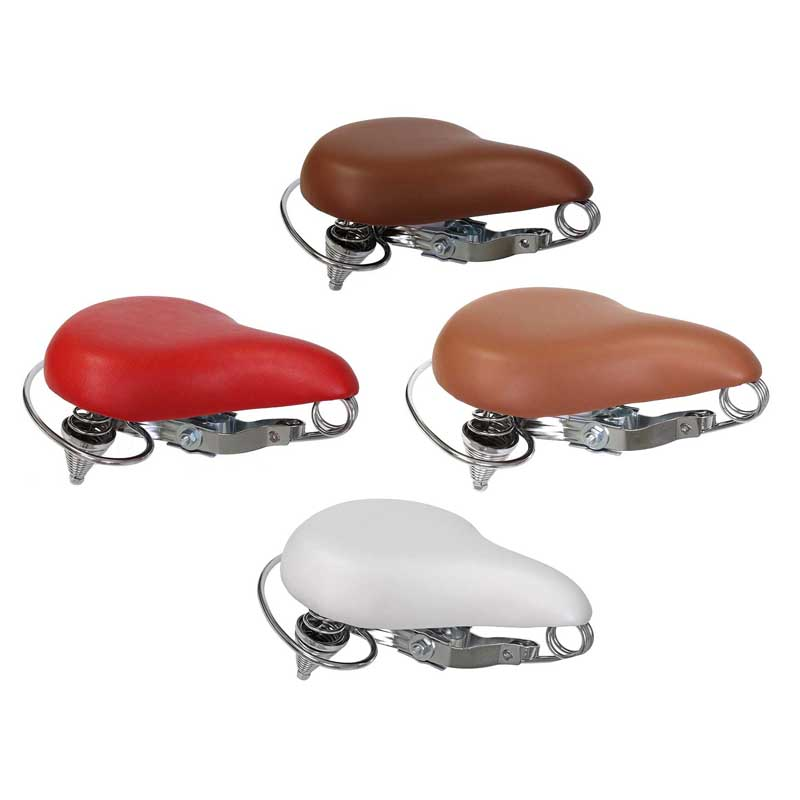 Classic Saddle Seat for Bikes & Scooters (Multiple Color Options)