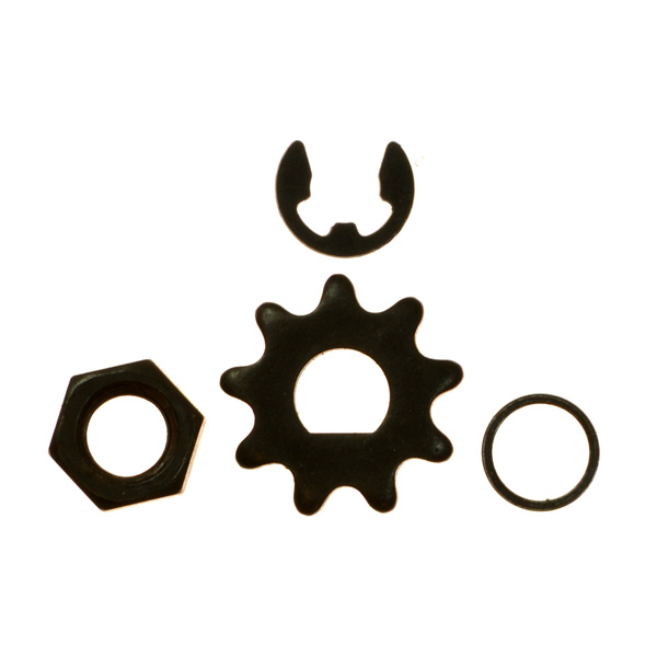 9 Tooth #25 Chain Motor Sprocket
