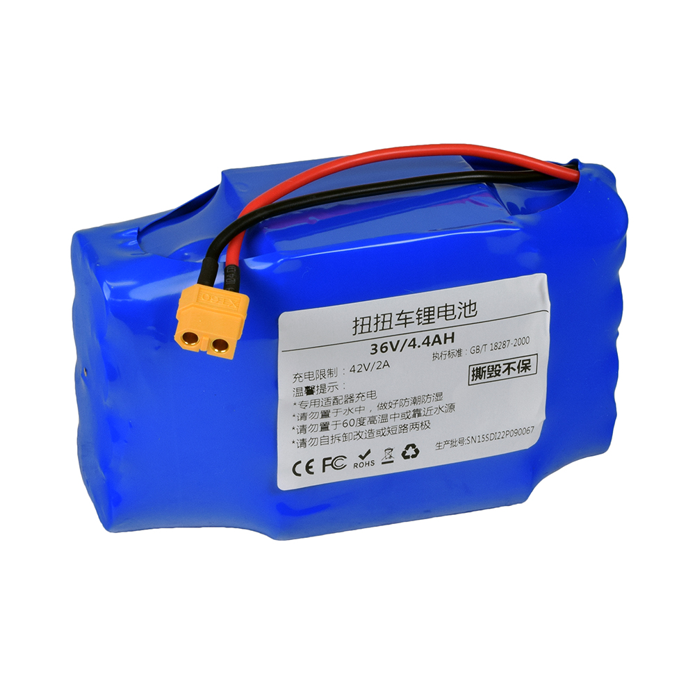 36 Volt 4.4 Ah Lithium Battery for the Powerboard by Hoverboard